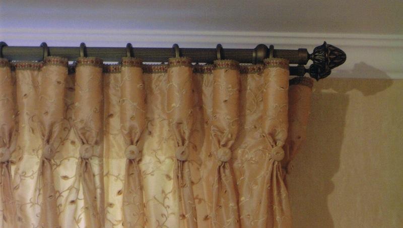 Бокалы своими руками шторы